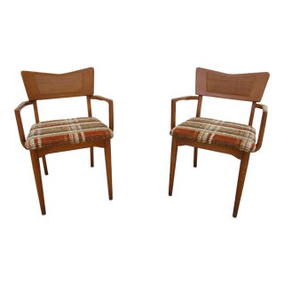 Mid-Century Modern Arm Chairs -St. Johns Table Company For Sale
