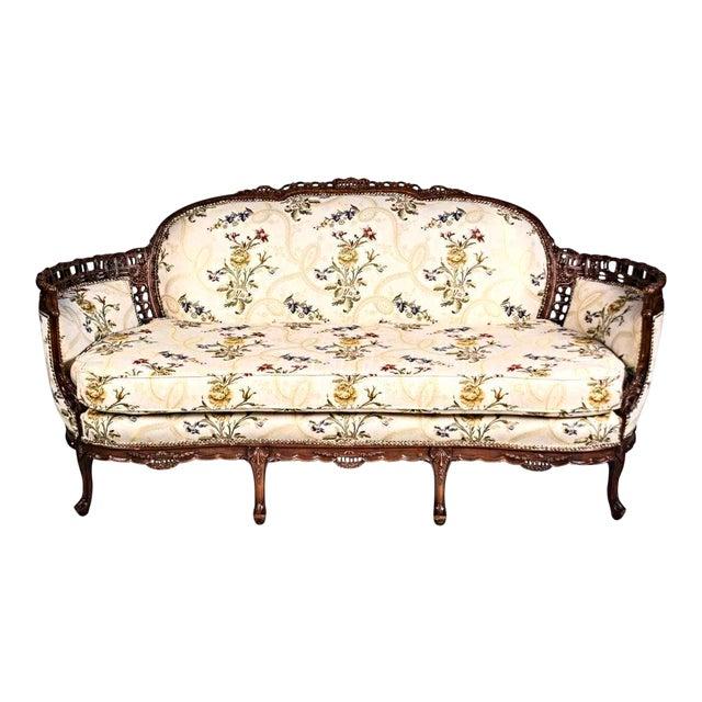Louis XV Style Canape en Corbeille Settee For Sale
