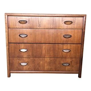 1960s Mid Century Modern Baker Cherry Wood Dresser