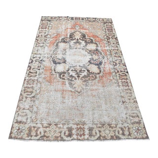 Antique Anatolian Rug - 4′11″ × 8′2″ For Sale