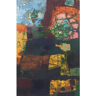 "Contemporary Abstract Painting ""Subterranean"" by Sam Perry For Sale"