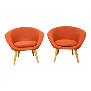 Wigells Tub Chairs- a Pair For Sale