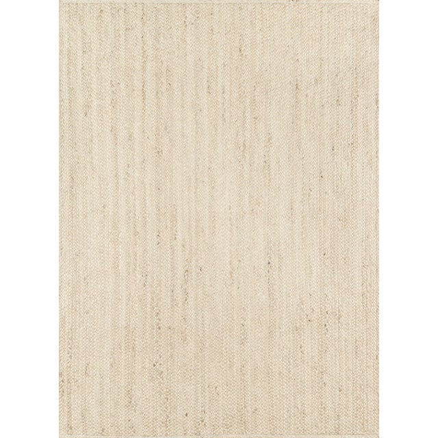 Brown Erin Gates by Momeni Westshore Waltham Natural Jute Area Rug - 7′6″ × 9′6″ For Sale - Image 8 of 8