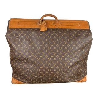 Louis Vuitton Large Monogram Steamer Travel Bag 55 For Sale