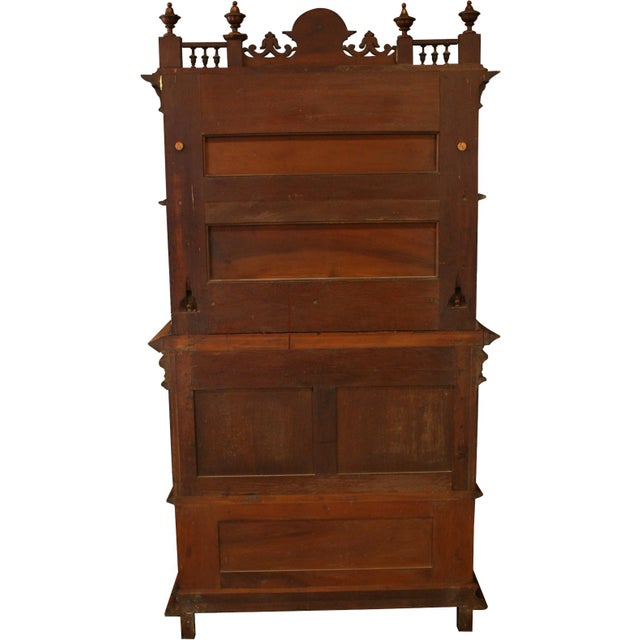 1900 French Renaissance Sideboard Server For Sale - Image 11 of 12