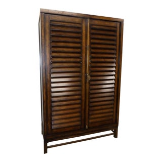 Ralph Lauren Cottage Plantation Style Flat Screen Armoire Cabinet