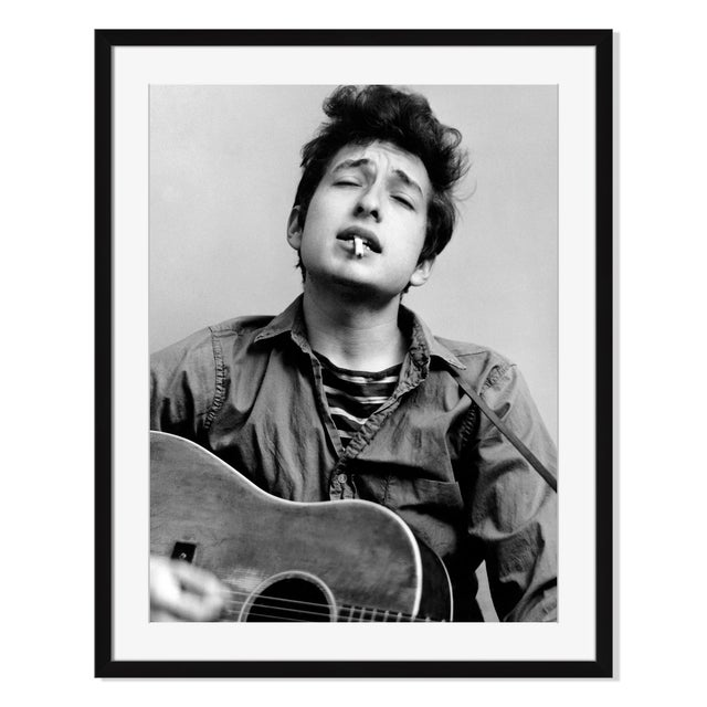 """Bob Dylan Headshot in New York City"" - Image 2 of 2"