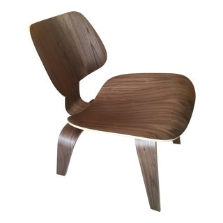 Eames for Herman Miller Walnut LCW Chair