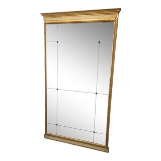 19th Century Italian Paneled Floor Mirror