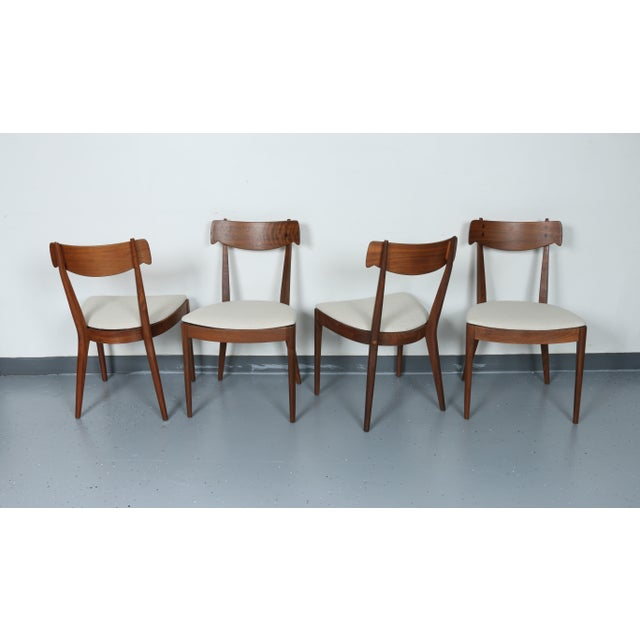 Kipp Stewart for Drexel set of 8 Dining Chairs - Image 9 of 11