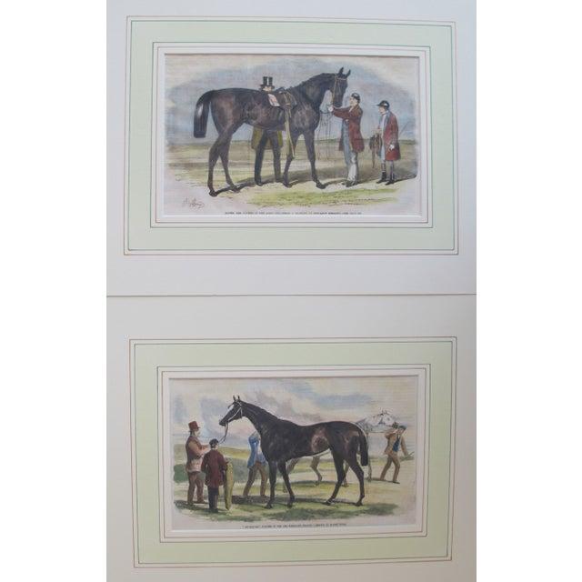 1860s Original British Equestrian Prints - Pair - Image 4 of 4