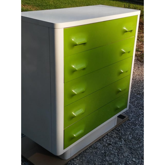 Mid-Century Modern Broyhill Premier Chapter One Tall Dresser For Sale - Image 3 of 9