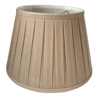 Linen Box Pleat Empire Lamp Shade 12""