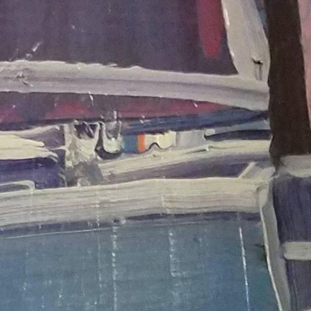Abstract 20th Century Abstract Still Life Painting by Daniel Clesse For Sale - Image 3 of 4