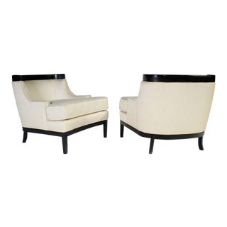 Pair of Erwin Lambeth Lounge Chairs for Tomlinson