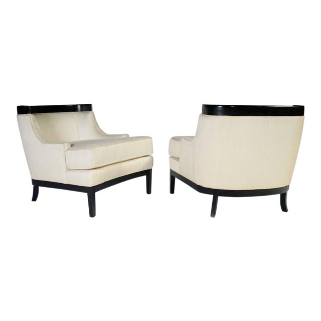 Pair of Erwin Lambeth Lounge Chairs for Tomlinson For Sale
