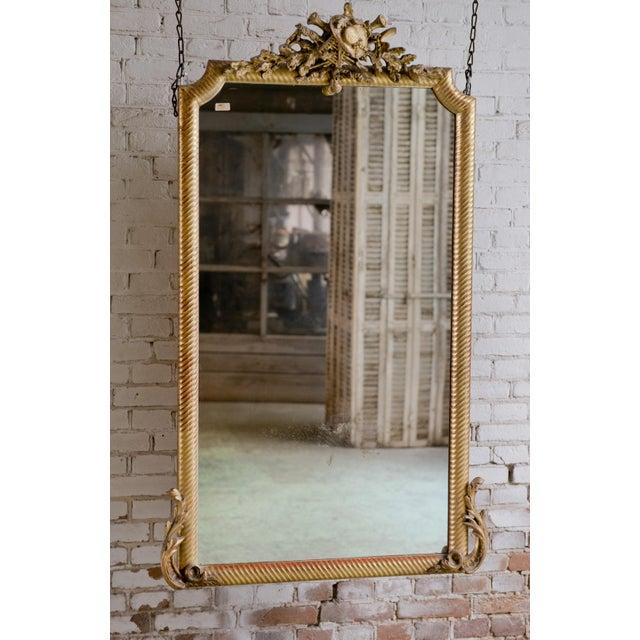 Louis XVI 19th Century Mirror For Sale - Image 3 of 7