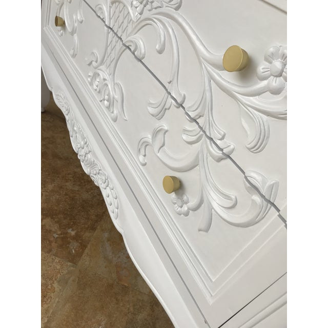 Country French White Dresser For Sale In Naples, FL - Image 6 of 8
