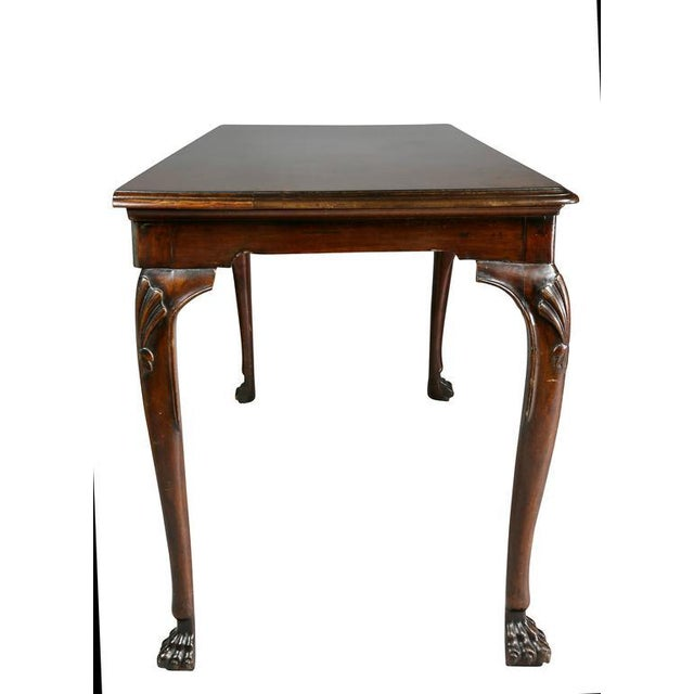 Brown Irish Georgian Mahogany Console Table For Sale - Image 8 of 10