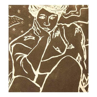 "Jacklyn Friedman ""Lady With Stars"" Print For Sale"