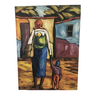 Peter Kwangware Original South African Painting For Sale
