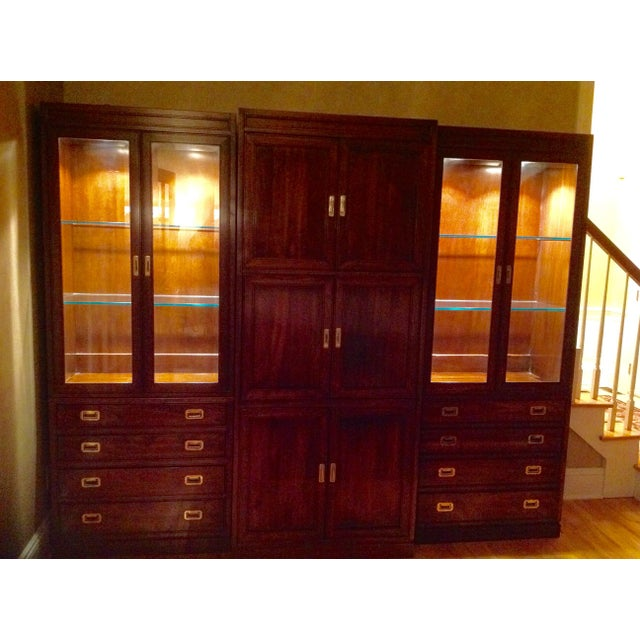 Ethan Allen Canova Collection Wall Unit - Image 6 of 9