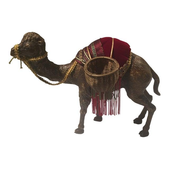1970s Hollywood Regency Decorative Camel For Sale