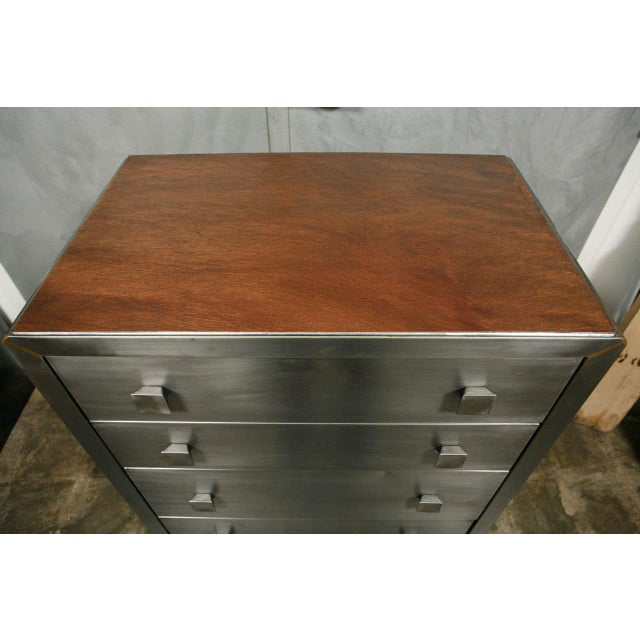 Mid-Century Metal Chest of Drawers - Image 3 of 8