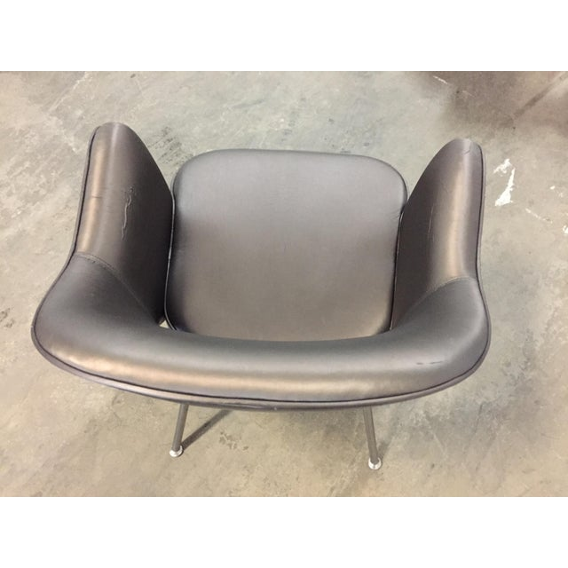 Metal 1975 Knoll Saarinen Executive Dining or Office Chairs - Set of 6 For Sale - Image 7 of 12