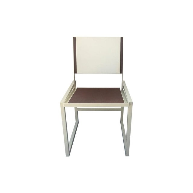 Foreman Brothers Design Vernon Dining Chair For Sale - Image 4 of 5