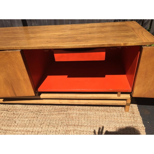 Vintage Mid-Century Chinoiserie Buffet For Sale In Saint Louis - Image 6 of 7