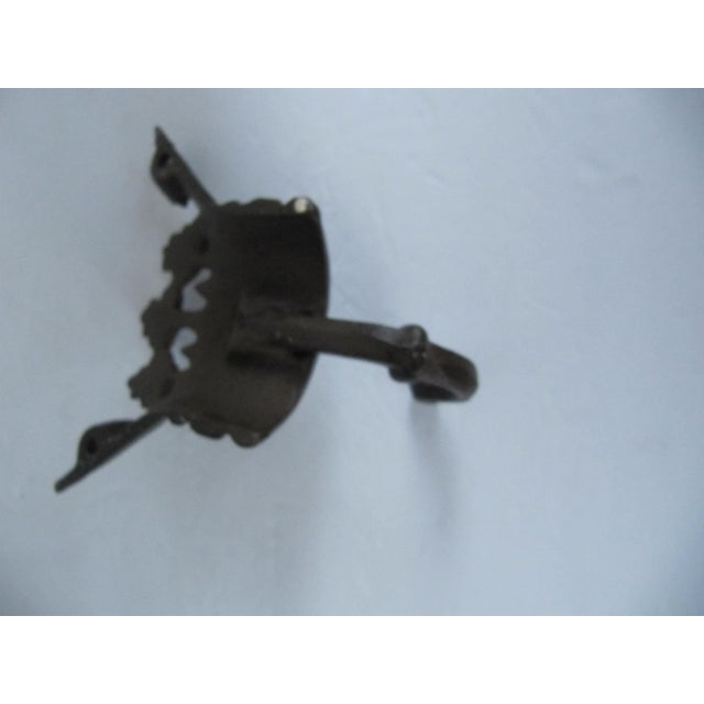 Iron Crown Wall Hook For Sale - Image 4 of 5