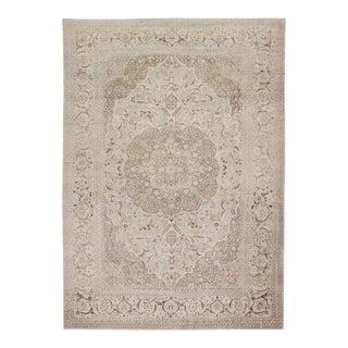 Large Antique Persian Tabriz Rug - 16′ × 23′ For Sale