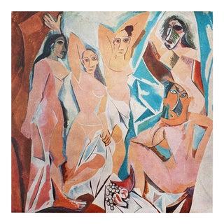 1971 Picasso Les Demoiselles d'Avignon Parisian Photogravure For Sale
