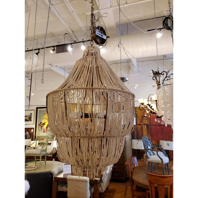 Made Goods CoCo Bead Aida Chandelier For Sale - Image 10 of 10