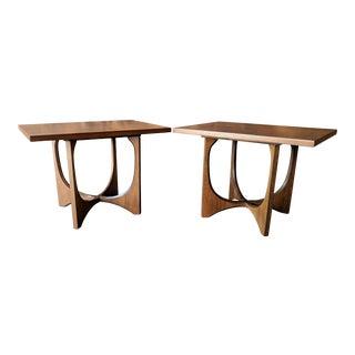 Broyhill Brasilia Sculptural End Tables For Sale