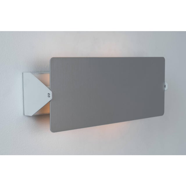 Mid-Century Modern Charlotte Perriand 'Applique à Volet Pivotant Double' Wall Lights in Aluminum For Sale - Image 3 of 8