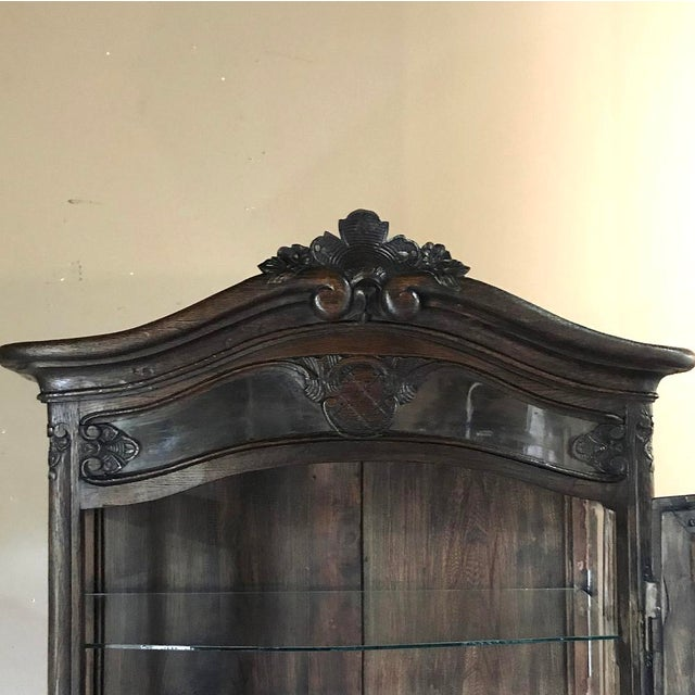 19th Century Country French Vitrine ~ Bookcase For Sale - Image 11 of 13