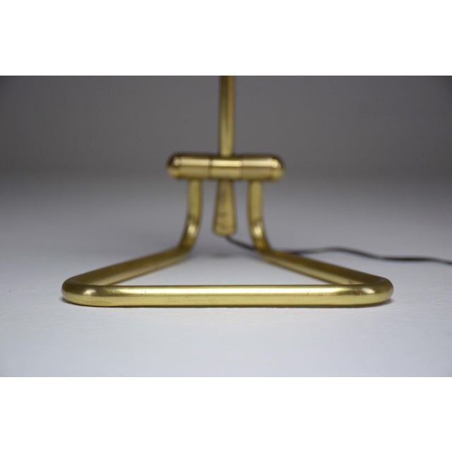 Gold 20th Century Vintage French Midcentury Table Lamp For Sale - Image 8 of 9