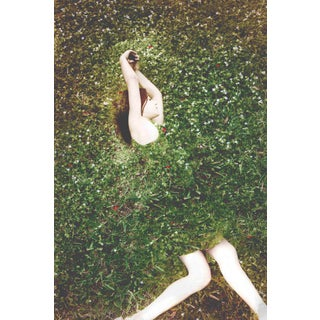 """Contemporary Surrealism Green Photography """"Transcendence I"""" by Patricia. P. Abreu For Sale"""