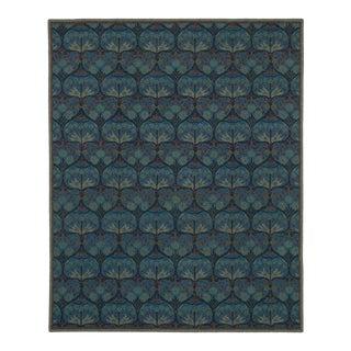 Hand Tufted Arts & Crafts Geometric Wool Rug - 8' x 10'