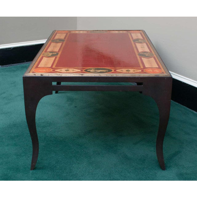 Late 20th Century Neoclassical Style Coffee Table For Sale In Washington DC - Image 6 of 8