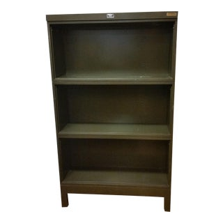 Industrial Open Stacking Bookcase For Sale