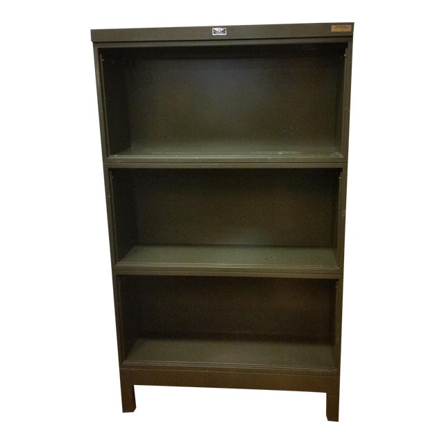 Industrial Open Stacking Bookcase - Image 1 of 9