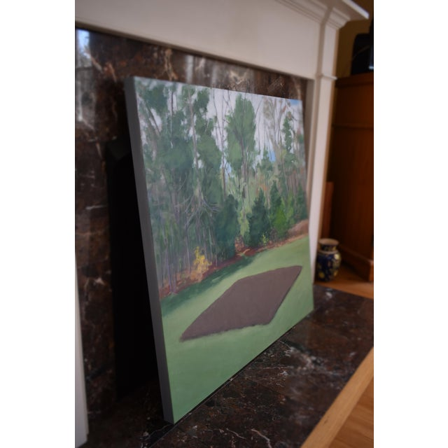 """Green """"Fertile Ground"""" Contemporary Painting by Stephen Remick For Sale - Image 8 of 11"""