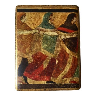 Florentine Gilt Wood Box For Sale