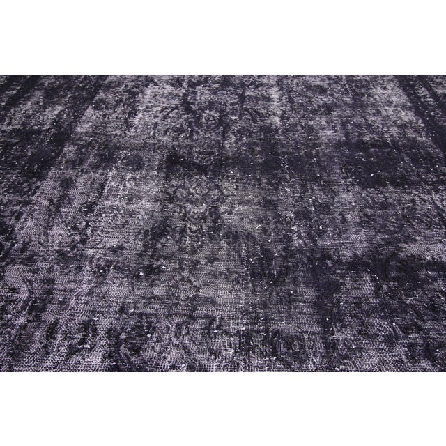 Vintage Turkish Rug With Industrial Luxe Style - 09'05 X 12'04 For Sale - Image 4 of 7