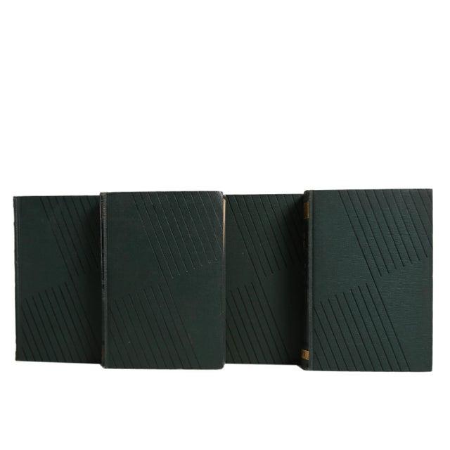Vintage Decorative Book Gift Set: Green Art Deco Novels For Sale - Image 4 of 5
