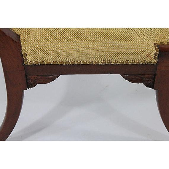 Antique Klismos Mahogany Chair For Sale - Image 4 of 6