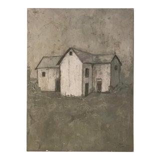 """Farmhouse"" Painting by Allen Kerr For Sale"